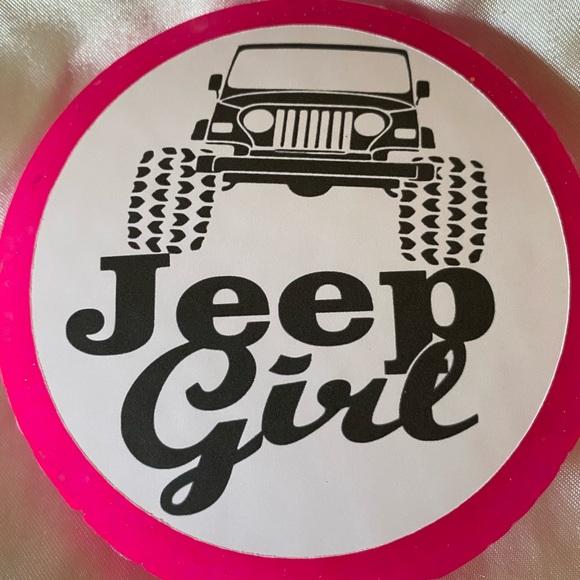 Jeep Girl Car Freshie